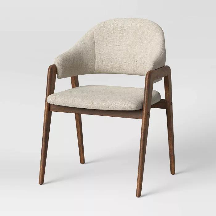 Ingleside Open Back Upholstered Wood Frame Dining Chair Project 62 In 2021 Dining Chairs Upholster Upholstered Dining Chairs Comfortable dining chairs with arms