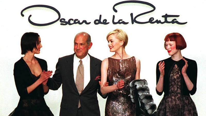 En fotos: Óscar de la Renta, entre el glamour y el amor a la silueta femenina