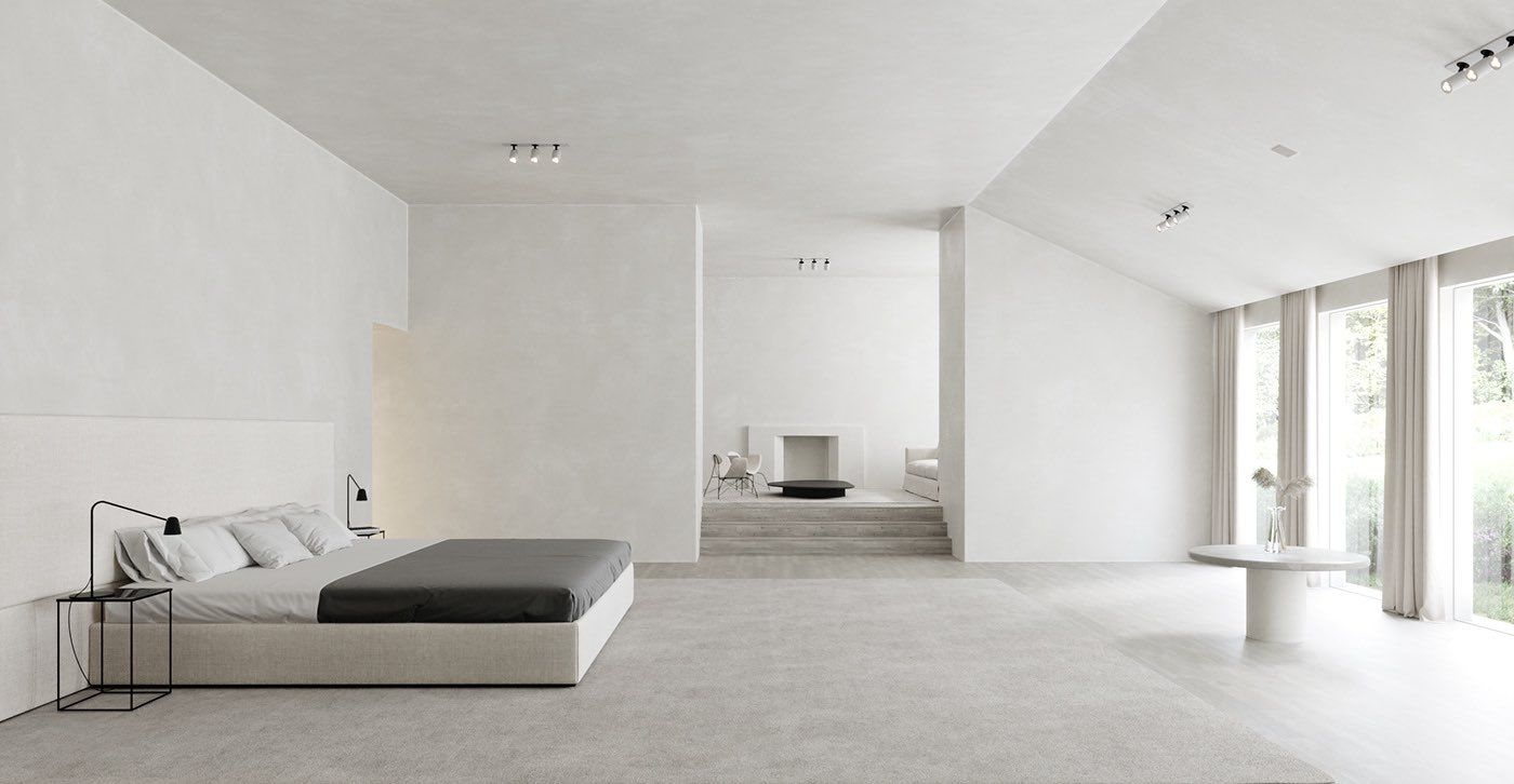 The Project On Twitter In 2021 Minimalist Home Minimalism Interior Kim House