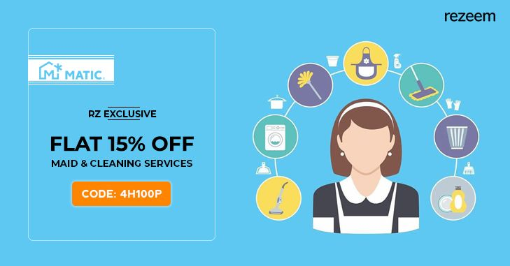Book Maid & Home Cleaning Services Online & Flat 15% Discount