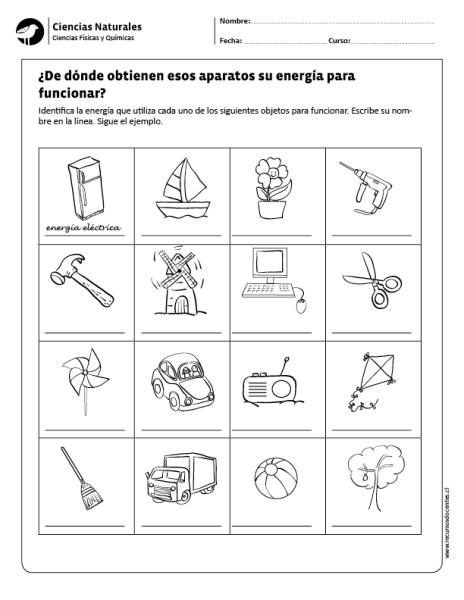 De Donde Obtienen Esos Aparatos Su Energia Para Funcionar Cuadernos Interactivos De Ciencias Tecnologia Para Ninos Clases De Tecnologia