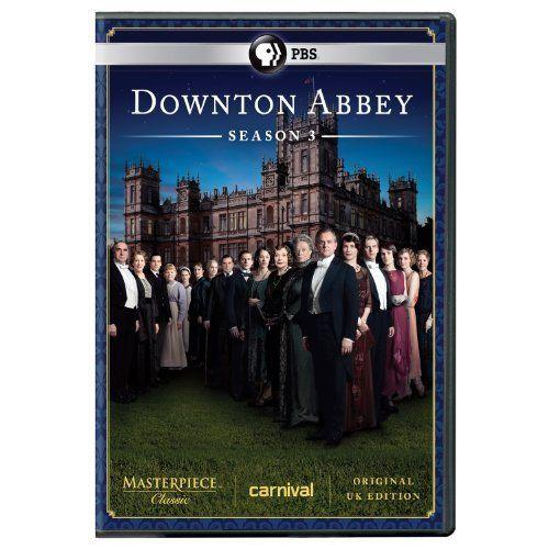 Amazon Com Masterpiece Classic Downton Abbey Season 3 Dvd