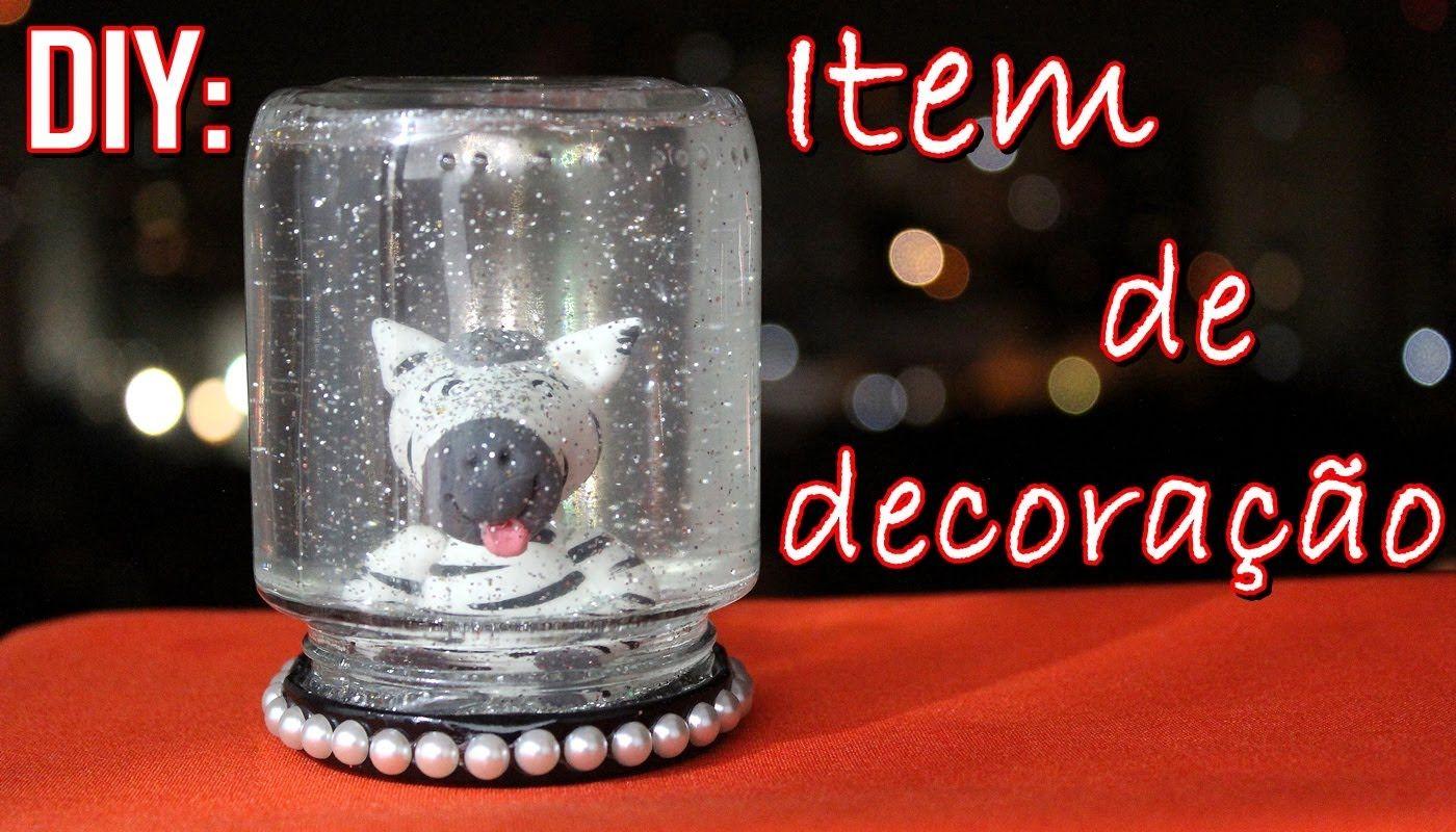 DIY: Item de decoração (FÁCIL) - Sisters Lellis