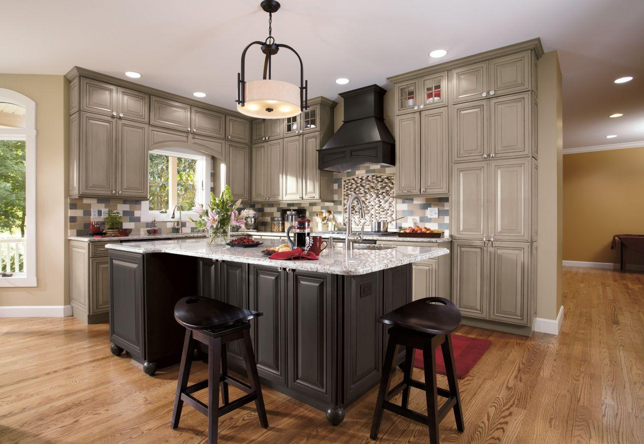 Premium Cabinets Bathroom Kitchen Cabinetry Decora Greige Kitchen Cabinets Greige Kitchen Grey Kitchens