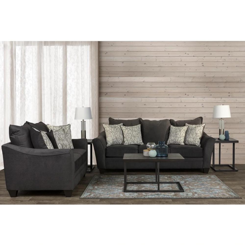 Signature Design By Ashley Contemporary 7 Piece Living Room Set