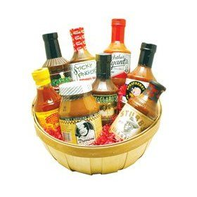 America`s Best Barbecue Sauces Basket $79.95