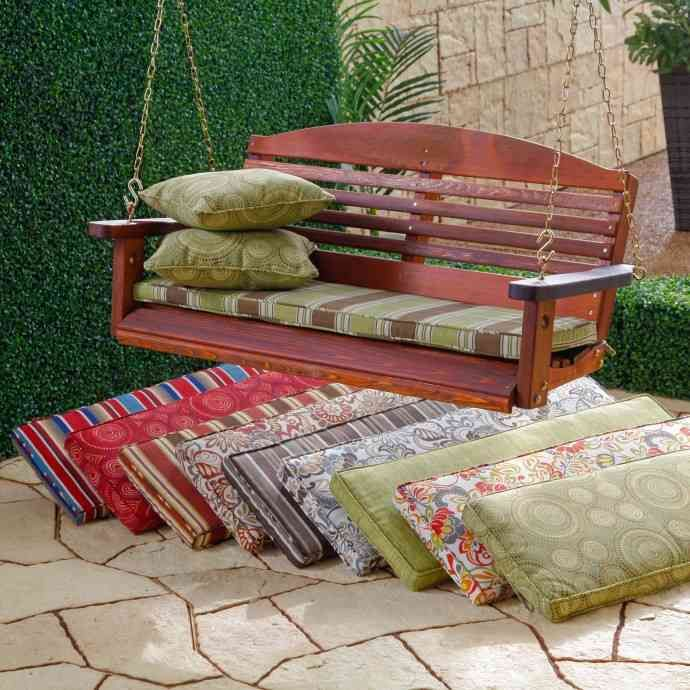 Outdoor Porch Swing Cushions Porch Swing Cushions Porch Swing Outdoor Swing Cushions