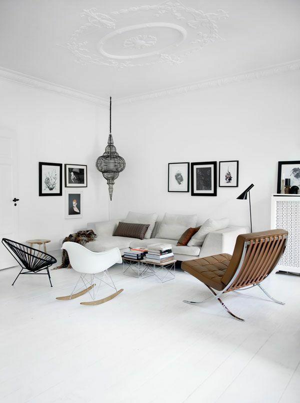 Skandinavische Möbel im Wohnzimmer - inspirierende Einrichtungsideen ...