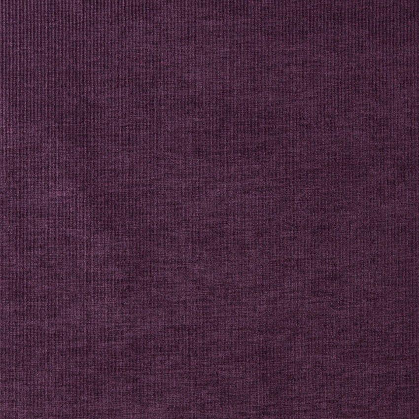 Plum Purple Lilac Solid Stripe Texture Plush Velvet