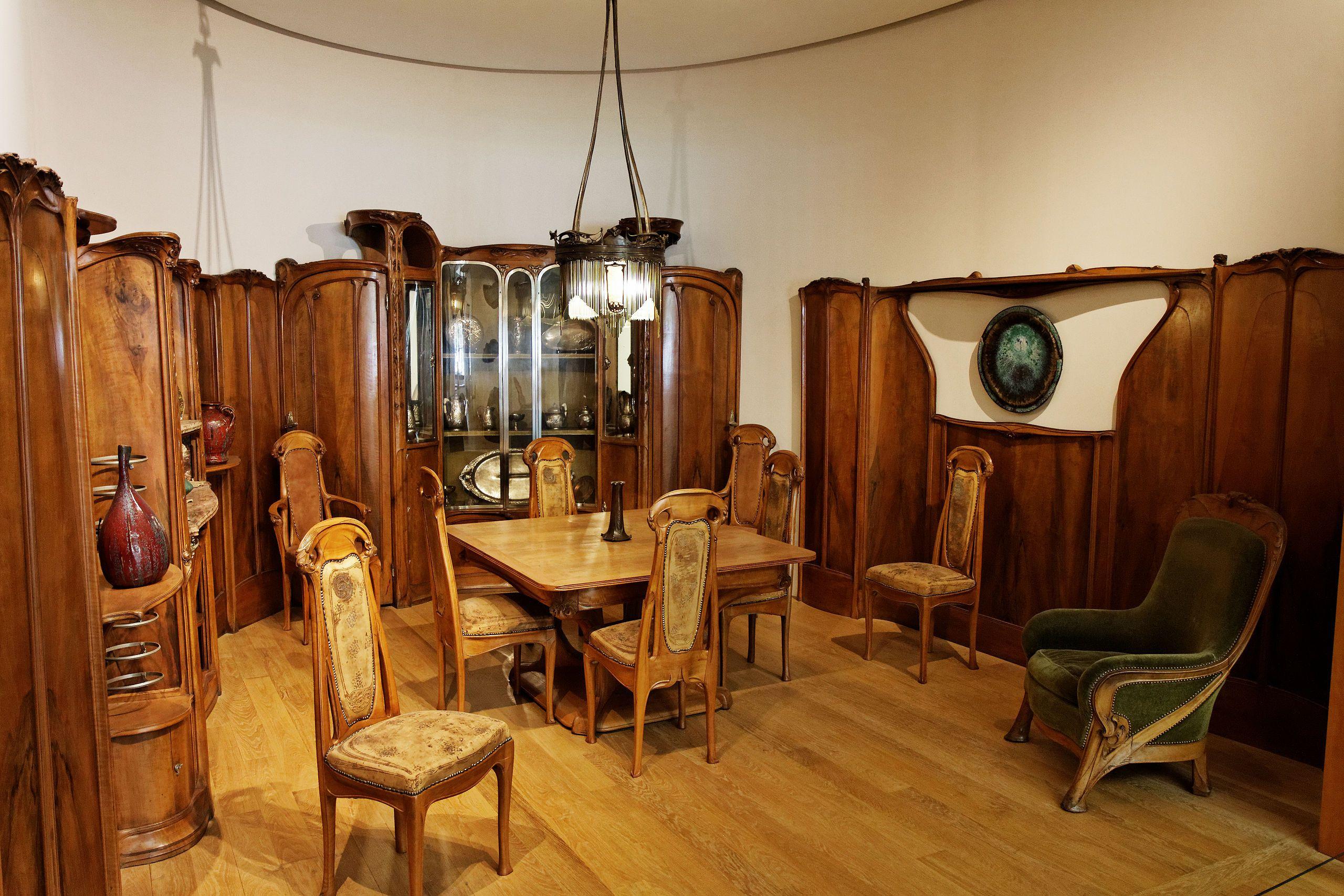 Petit Palais - Salle à manger Maison Guimard - 002 - Hector Guimard - Wikipedia, the free encyclopedia
