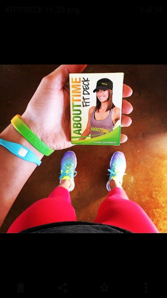 Your TAKE ANYWHERE Holiday Workout! A 52  deck of cards with unlimited challening workouts! Get yours at http://tryabouttime.com/shop/fit-deck/ >>>use code NATURAL for 20% off your puchase