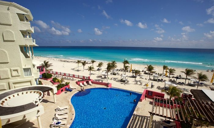 3 Night All Inclusive Hotel Nyx Cancun Stay W Airfare Price Person Based On Double Occupancy Buy 1 Groupon Person Hoteles En Cancun Piscinas Hotel