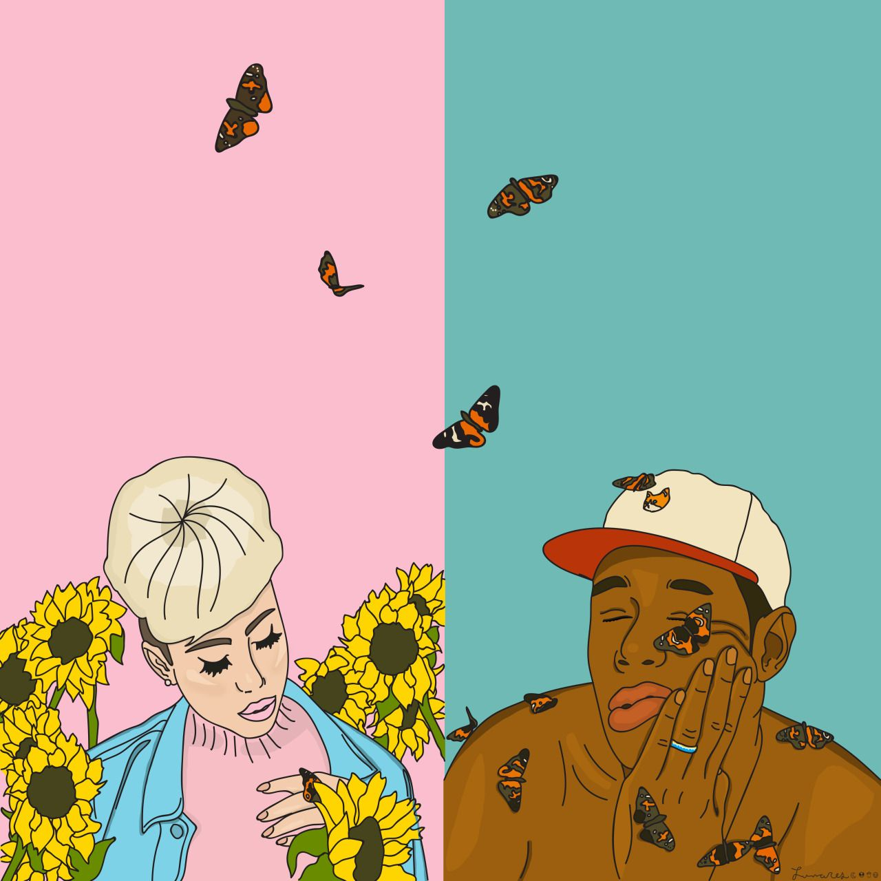 Pin by Katherine Sanchez 🌹 on KALI UCHIS Tyler the