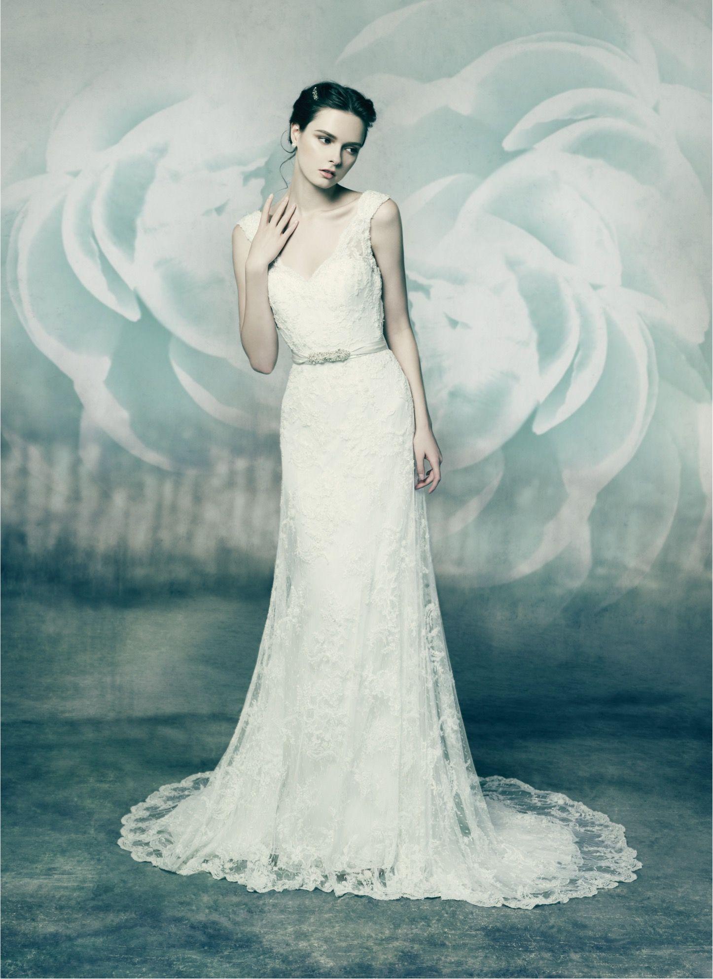 ZIRCON, wedding dress from Annasul Y. 2016 Bridal Collection. www ...