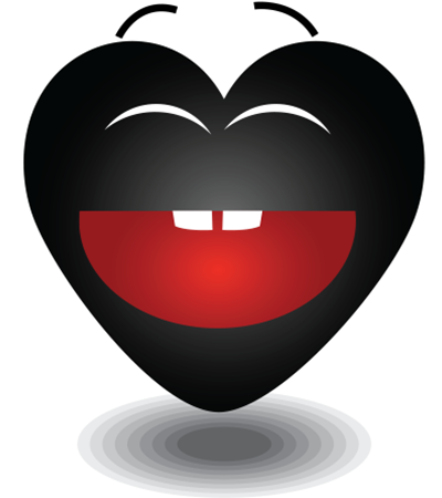 Black Heart Black Heart Emoji Black Heart Emoticon