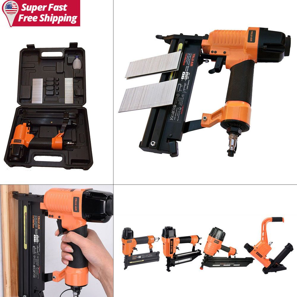 2In1 Air Pneumatic Staplers Staple Gun Upholstery Wire Framing ...