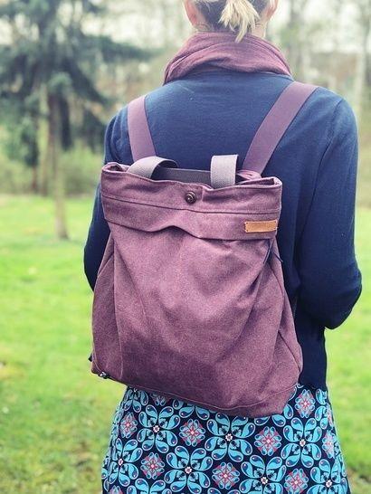Ebook Rucksack/ Schultertasche Citie Bag – Bolsa de moda