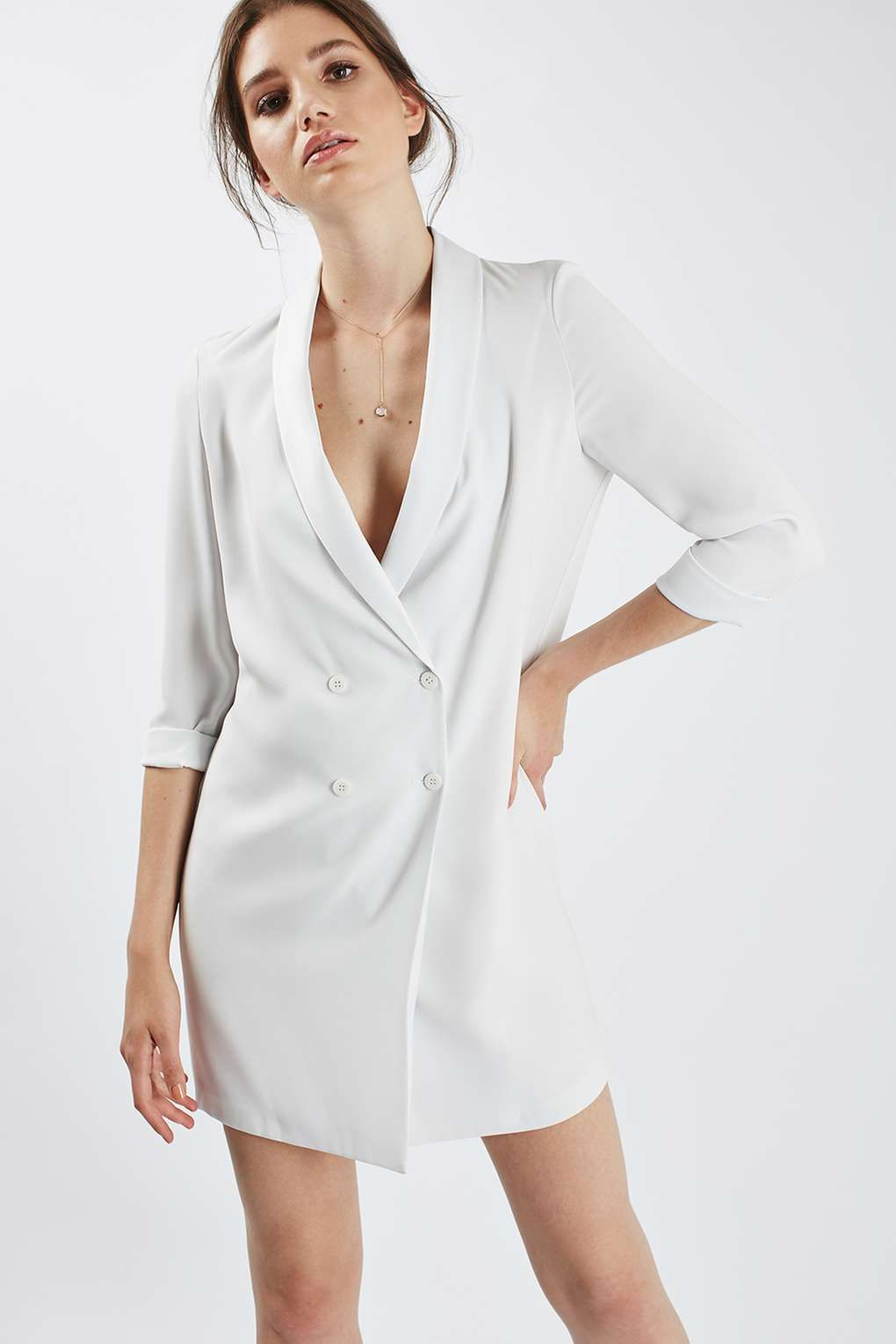 Soft Tailored Blazer Dress | Blazer dress, Blazers and Topshop