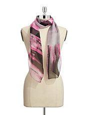 Silk Watercolour Scarf