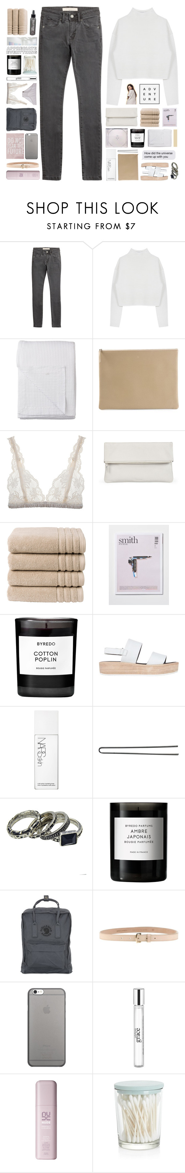 """""""☽ leave this blue neighbourhood, never knew loving could hurt this good ☾"""" by end-of-the-day ❤ liked on Polyvore featuring Burberry, Dion Lee, Lene Bjerre, Arts & Science, Lonely, Whistles, Christy, Byredo, Tony Bianco and NARS Cosmetics"""