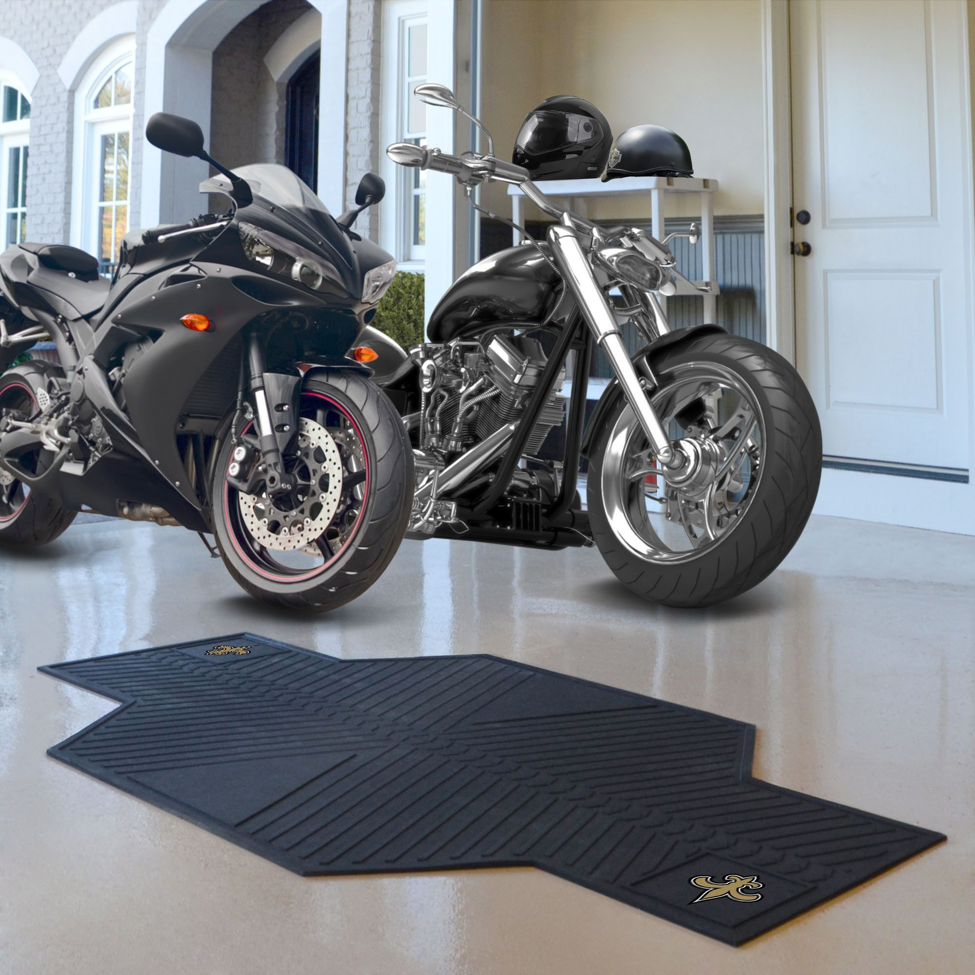New Orleans Saints Motorcycle Mat Products Pinterest Products