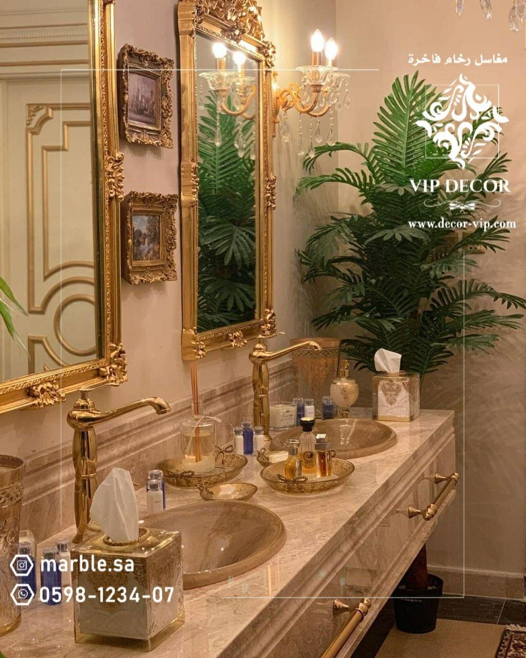 مغاسل رخام Table Decorations Lighted Bathroom Mirror Home Decor