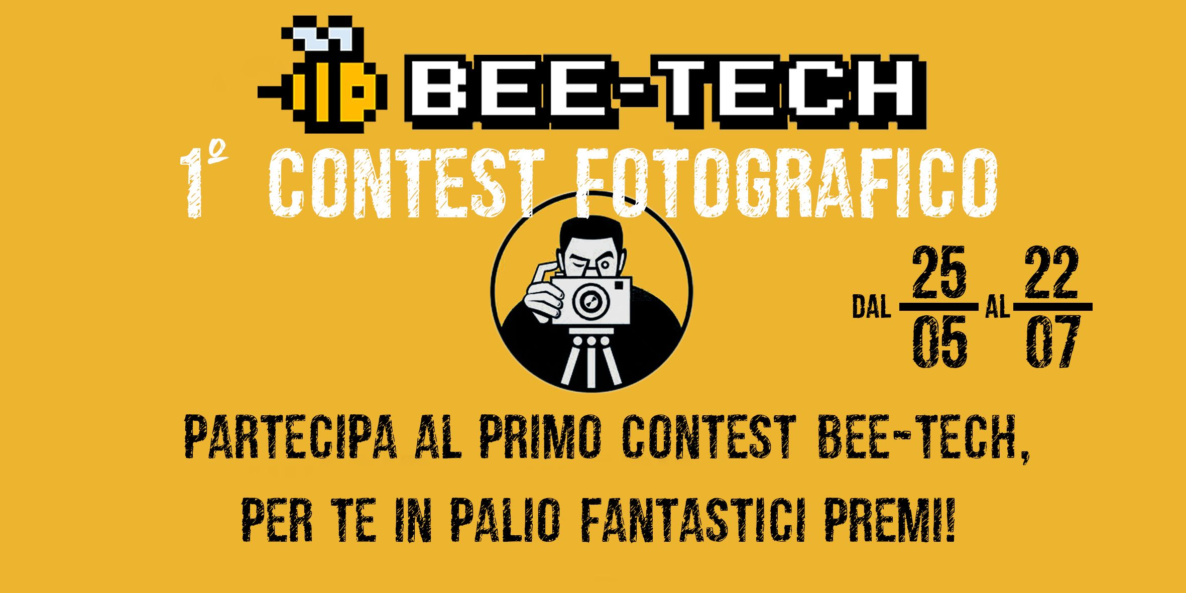 Una Nikon D5600 in palio per il contest Bee-Tech