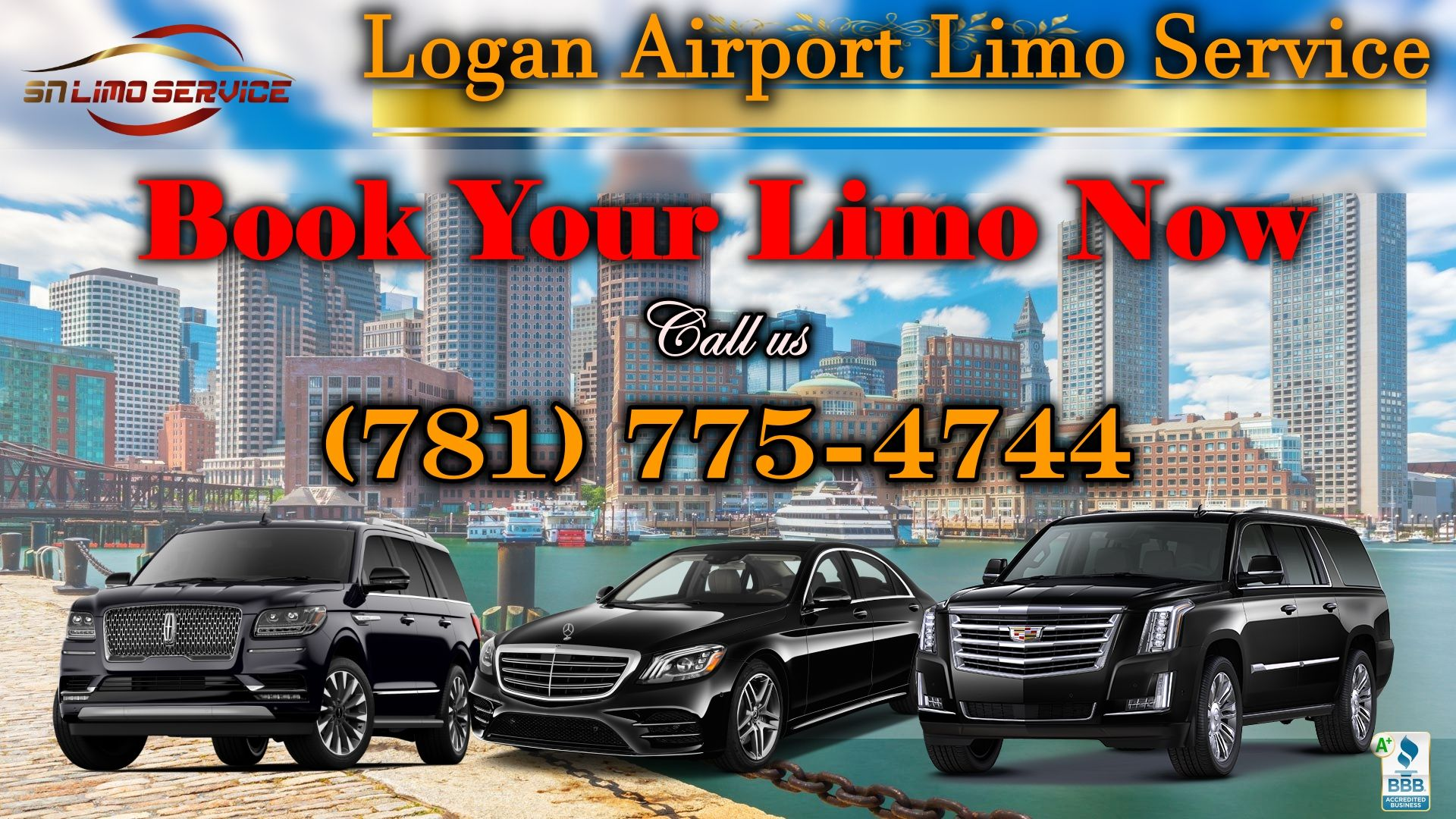 Logan Airport Limo Service in Boston and nearby