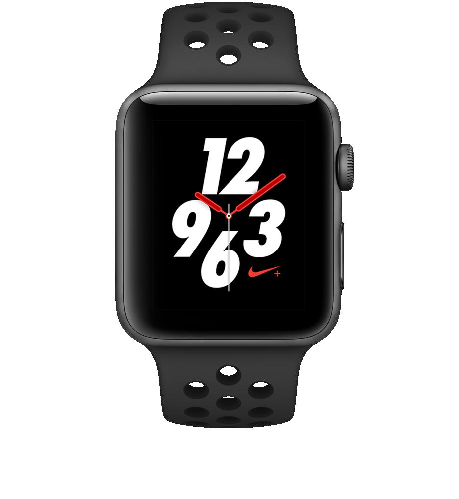 Apple Watch Series 3 Nike+ Aluminum 42mm Case Sport Band