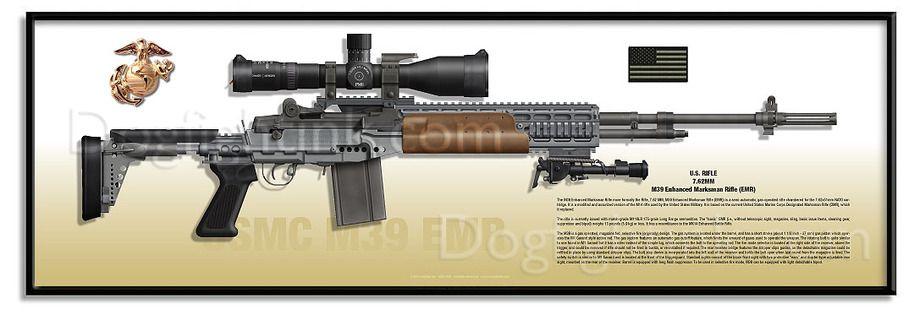 M39 EMR | TactiCool | Weapons guns, Weapons, Guns