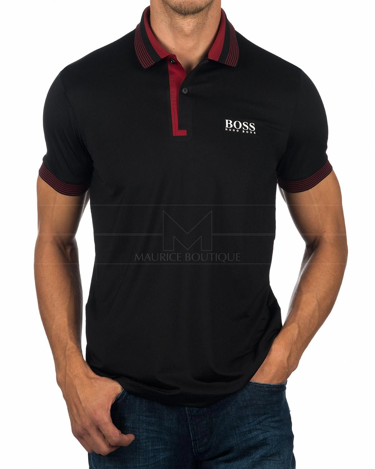 c1715eef5 Hugo Boss Polo Shirts - Paddy Pro 1 Red in 2019 | Dome 2 | Hugo boss ...