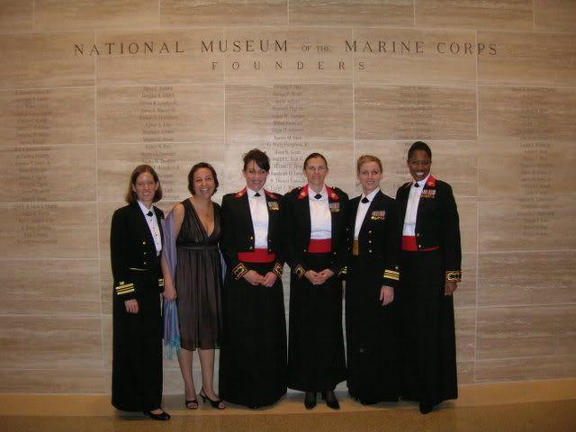 Evening dress uniform marine corps for second
