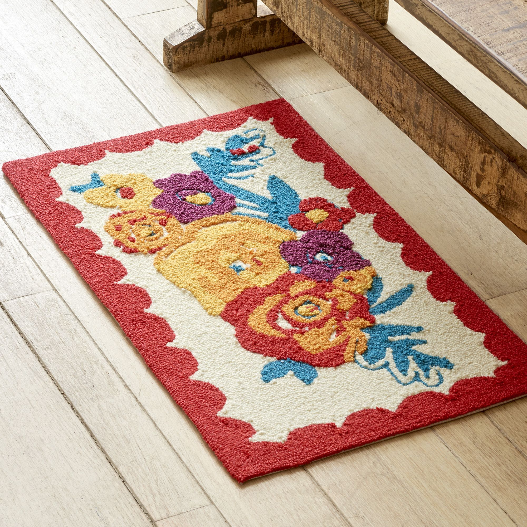 The Pioneer Woman Flea Market Rug 18 W X 30 L Available In Multiple Sizes Walmart Com Pioneer Woman Flea Markets Pioneer Woman Kitchen Pioneer Woman