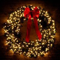 Outdoor Lighted Wreath Make A Large Outdoor Wreath  Outdoor Wreaths Wreaths And Wire