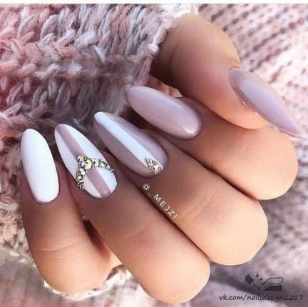 48 ideas nails design almond manicures nails  pink nails