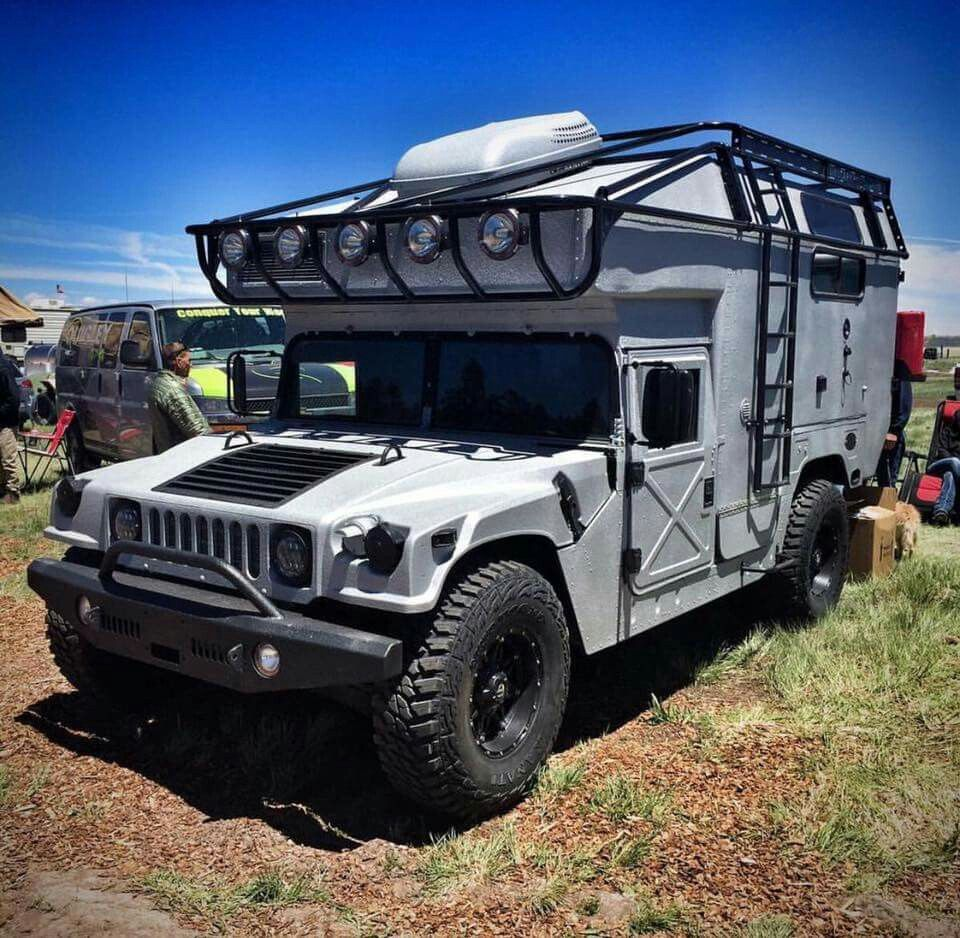 Pin by jonathan thomson on man and machine pinterest hummer motor home hummer h1 adventure campers camper interior survival tools automobile campervan truck jeep vanachro Choice Image