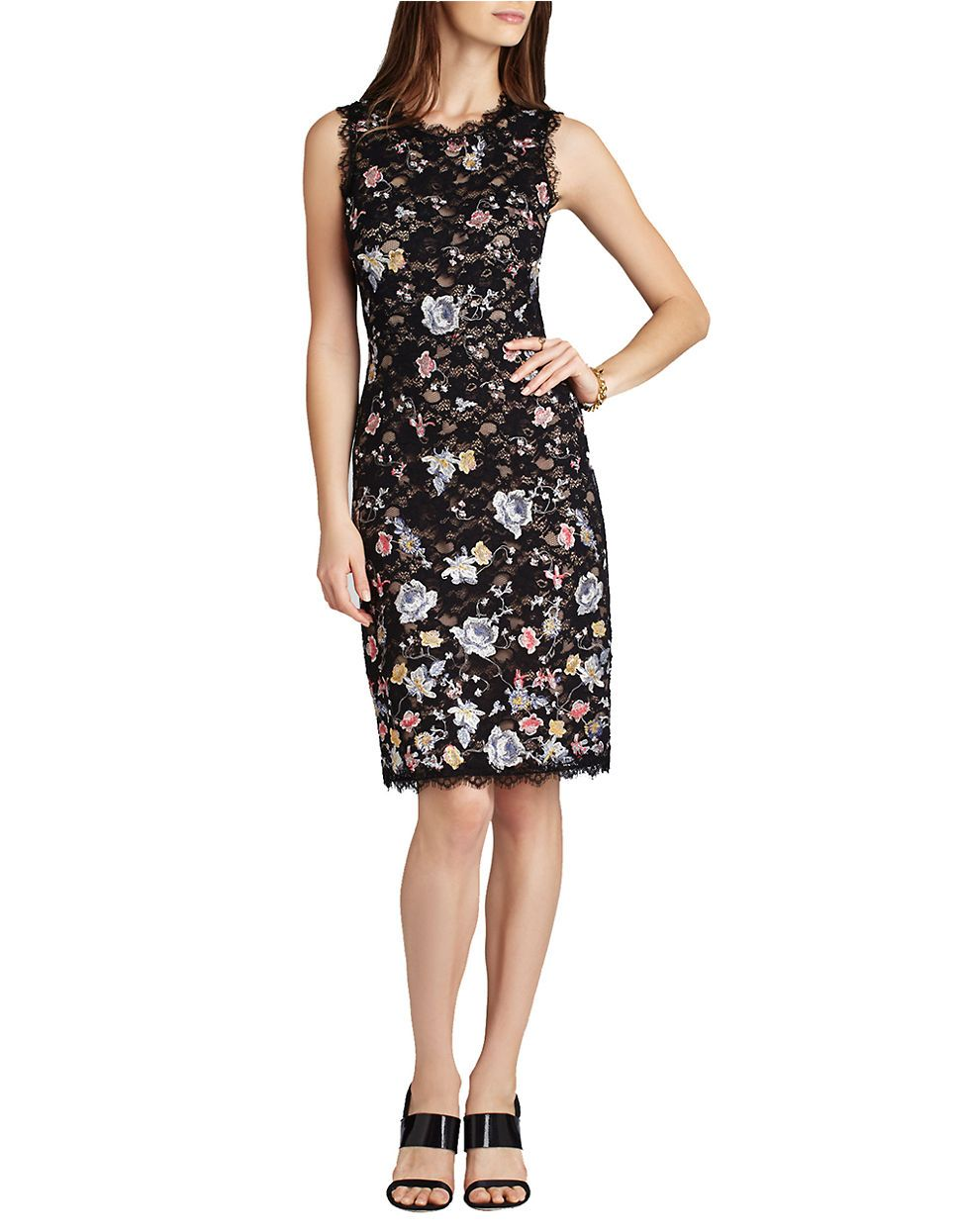 BCBGMAXAZRIA Diane Sleeveless Shift Dress   My Style