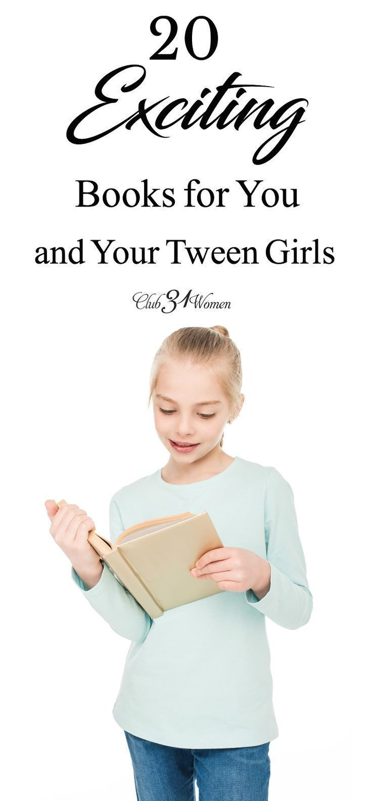 20 exciting books for you and your tween girls tween