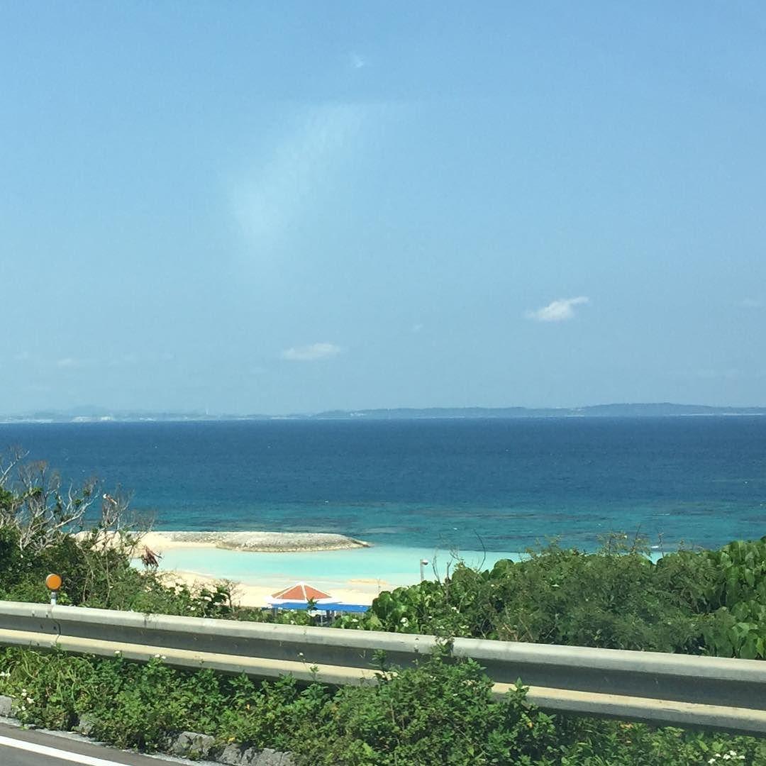 今日はいい天気 #海 #ドライブ #沖縄 #日本 #sea #driving #okinawa #japan