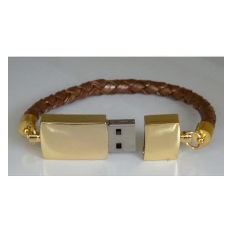 Instead of spending $40 online to buy one, I simply bought a tiny thumb drive and poked holes in it and then turned it into a bracelet. It was a cool little gift that I gave out for Christmas.
