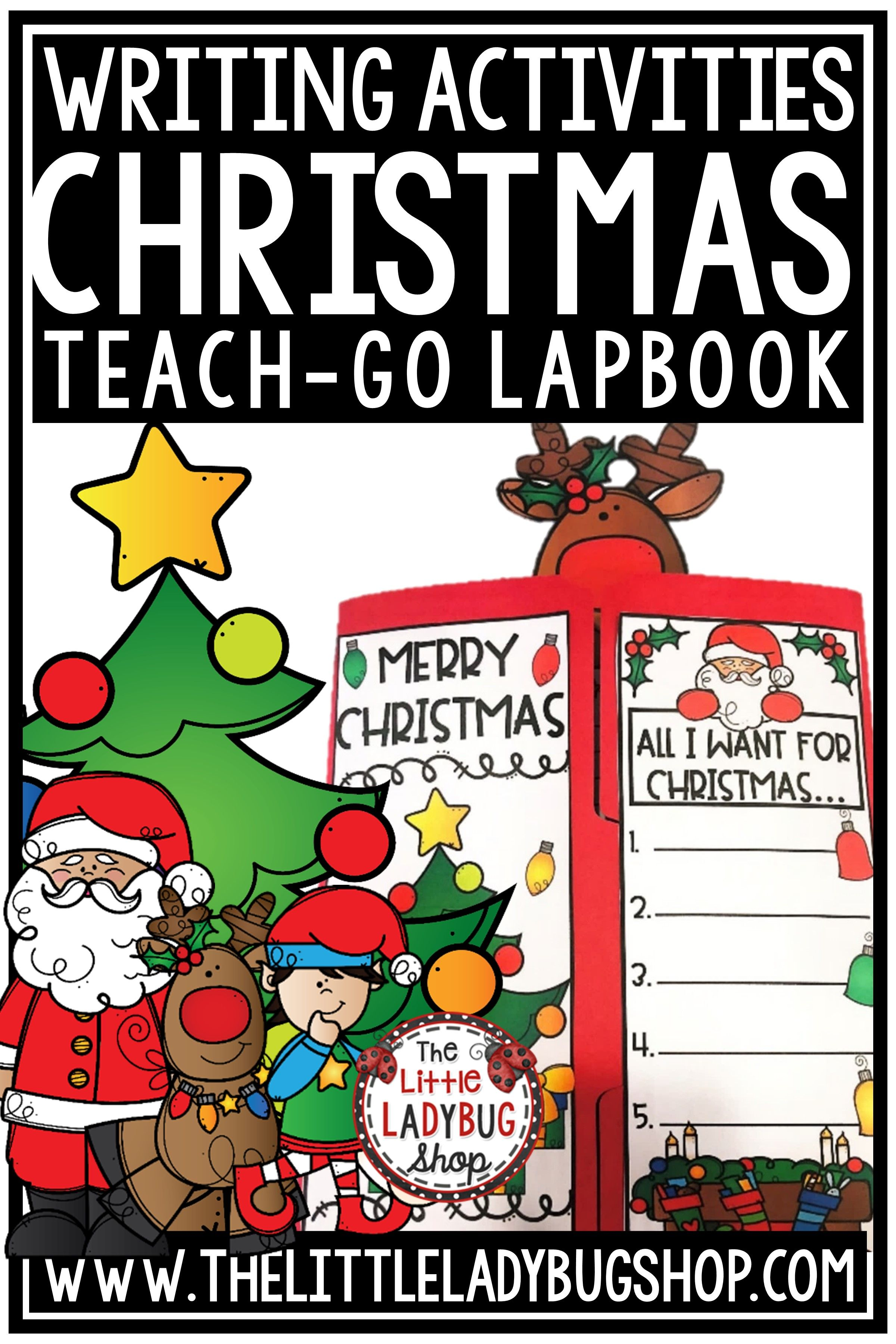 Christmas Writing Prompts 3rd Grade 4th Grade Letter To
