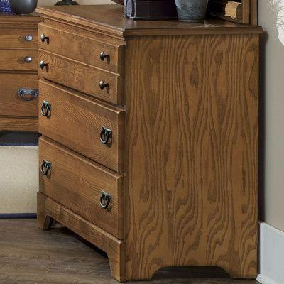 Carolina Furniture Works, Inc. Creek Side 3 Drawer Dresser