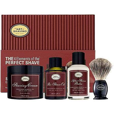 Sephora The Art Of Shaving The 4 Elements Of The Perfect Shave Sandalwood Skin Care Sets For Men The Art Of Shaving Shaving Luxury Gifts For Men