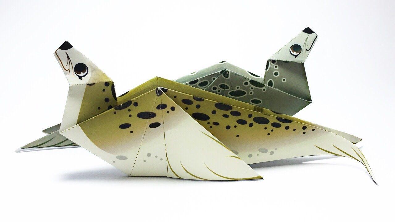 Seal origami tutorial chucanhshobbies pinterest seal origami tutorial jeuxipadfo Gallery