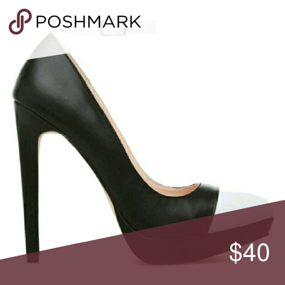 Two tone high heel Two tone with ankle strap Shoes Heels
