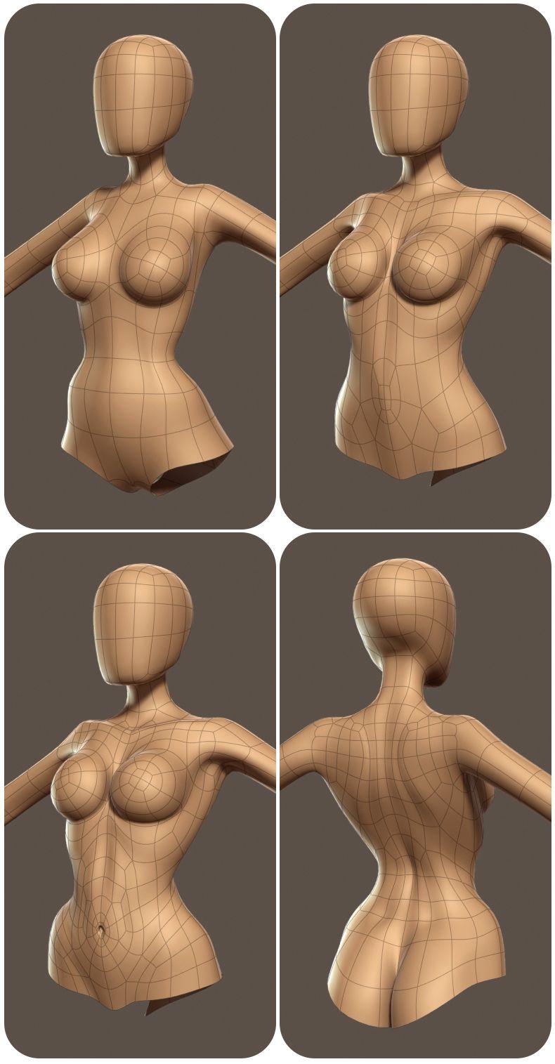 Escultura cuerpo femenino | arte 3d | Pinterest | Escultura, Cuerpo ...