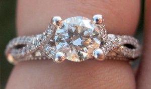 #Capri #Jewelers #Arizona is the only #Verragio Premier Boutique in the State of Arizona ~ http://www.caprijewelersaz.com/Verragio/17500001/EN ♥ venetian 5003, from verragio