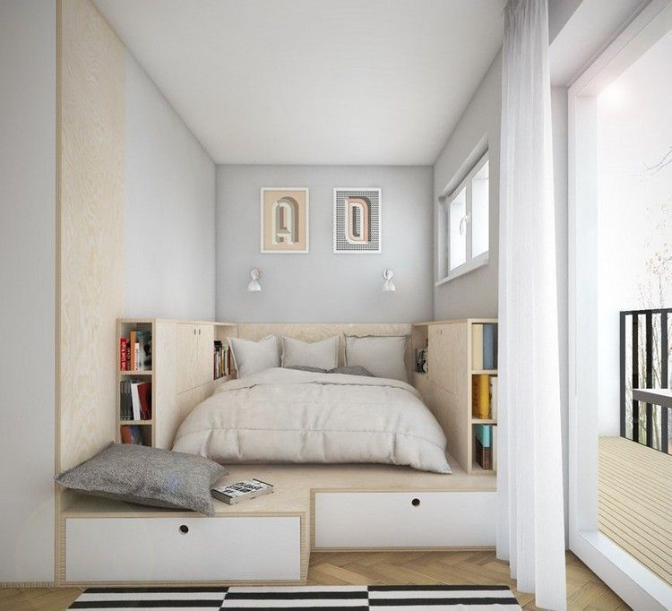 21 Best Space Saving Design Ideas For Small Bedrooms Decoratoo Small Bedroom Layout Bedroom Layouts Small Bedroom