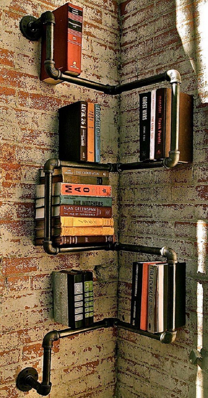 Photo of 20 projets de tuyaux métalliques bricolage cool pour votre maison