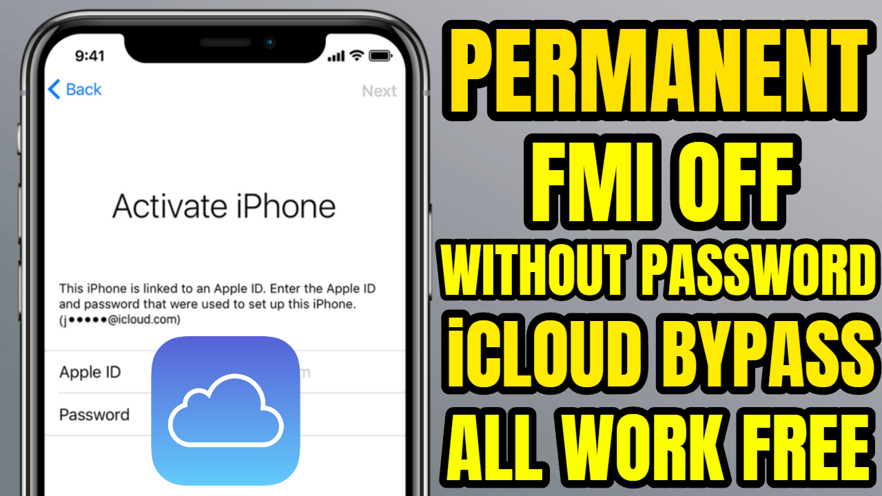 Permanent Fmi Off How To Remove Find My Iphone Without Password Icloud Delete Without Password Icloud Iphone How To Remove